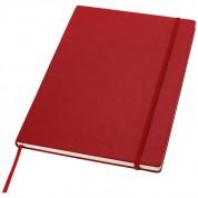 Класичний діловий блокнот А4, червоний