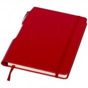 Блокнот Panama с ручкой, красный