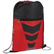 Рюкзак на мотузці Courtside, червоний/суцільний чорний