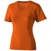 Футболка жіноча Kawartha з органічної бавовни, розмір XL, помаранчевий