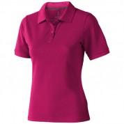 Футболка-поло жіноча Calgary з коротким рукавом, розмір XXL, рожевий