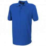 Футболка-поло чоловіча Crandall з коротким рукавом, розмір S, синiй