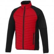 Куртка чоловіча утеплена гібрид Banff, розмір S, червоний/чорний