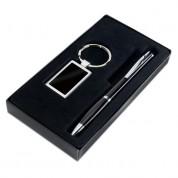 Набір: ручка кулькова і брелок KELLY, чорний